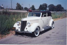 1936 Ford Convertible  Trunk Back -  Mid Year Body Change Restored at Sunset Ford, Ca.