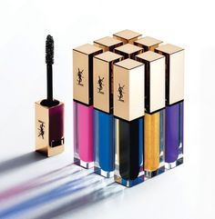 Why colored mascara YSL - the new cult of beauty? | Vogue Ukraine
