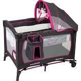 Baby Trend Hello Kitty Nursery Center Playard, Black