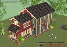 home garden plans: S101 - Chicken Coop Plans Construction - Chicken Coop Design - How To Build A Chicken Coop