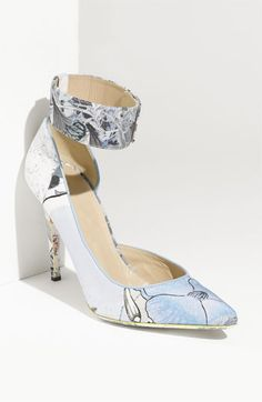 """Nicholas Kirkwood  """"Erdem Floral"""" Print Pump at Nordstroms $765.00...I wouldn't dream of spending that much on shoes, more sense than money!"""