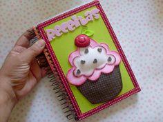 Este caderno de receita para dias das mães é uma ótima opção de presente (Foto: Divulgação)