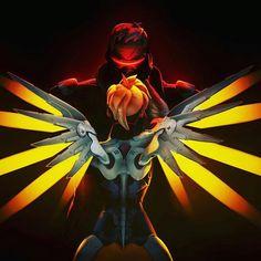 Mercy 76 Mercy X Soldier 76, Overwatch Fan Art, Pop Culture, Geek Culture, Widowmaker, Beautiful Fantasy Art, Team Fortress 2, Vaporwave, Best Games
