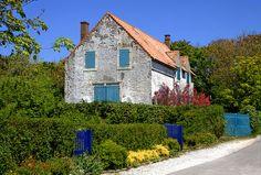 Natural blue in Wissant, Nord-Pas-de-Calais, France