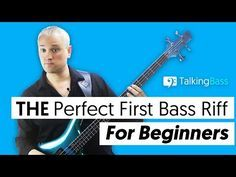 THE Perfect First Bass Riff For Beginners - YouTube
