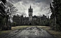 Abandoned mansion. Ohio