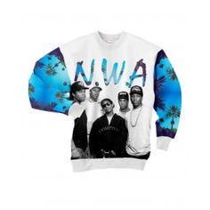 NWA Bluza Full Print 3D Bez Kaptura