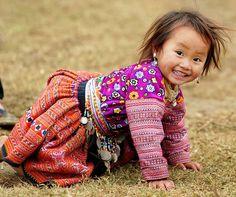 so precious ... & ... what a smile!  ♥
