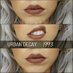 Urban Decay's Matte Revolution lipstick in 1993 :: I MUST HAVE THIS LIPSTICK! Too bad it's sold out EVERYWHERE #UrbanDecay