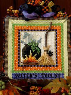 Kelly Clark Needlepoint Handbook: A Glimpse of Autumn!
