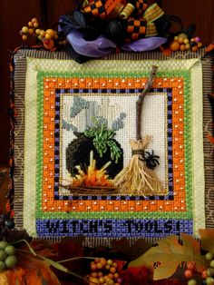 Kelly Clark Needlepoint Handbook: A Glimpse of Autumn!