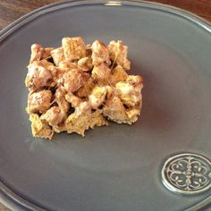 Marshmallow Toffee Cereal Bars Recipe | Just A Pinch Recipes