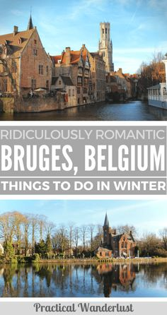 Bruges, Belgium is the most ridiculously romantic little medieval town in Europe ever. You can barely take a step without being swept off your feet by swans, horse-drawn carriages, chocolate shops, little lace shops, and other insanely cutesy things. Here's our list of the most adorable, things to do in Bruges in winter for couples!