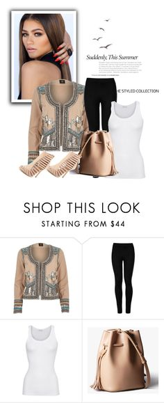 """""""Brownish"""" by annedenmark on Polyvore featuring River Island, Wolford and American Vintage"""