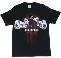 Death The Kid - Soul Eater T-shirt | eBay