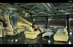interior design sci fi