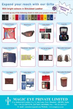 Magic Eye - Premium Leather Gifts by Magic Eye Private Limited via slideshare