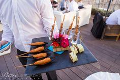 Wedding Canapes at Estrella del Mar Beach Club, Marbella.