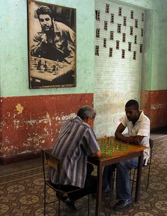 Cuba, where the art and skill of chess is alive and well