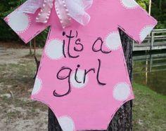 It's a girl door hanger