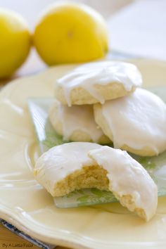 Soft Baked Lemon Sugar Cookies   A Latte Food