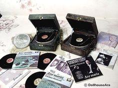 Miniature Record Turntable