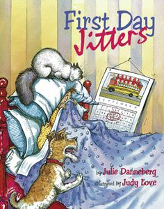 First day jitters are very real! This is a great book to read together to ease anxiety about the first days of school.