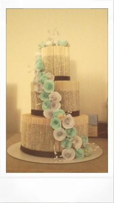 Check out this item in my Etsy shop https://www.etsy.com/uk/listing/239167564/3-tier-book-fold-wedding-cake-book-fold