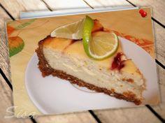 Limetkový cheesecake. http://www.hrncekoverecepty.sk/2016/05/limetkovy-cheesecake.html