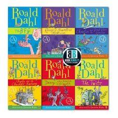 Roald Dahl Collection, This Book, Books, Libros, Book, Book Illustrations, Libri