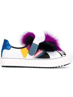 Shop Fendi monster fur sneakers in O' from the world's best independent boutiques at farfetch.com. Shop 300 boutiques at one address.