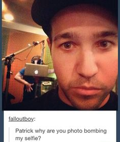 That's reverse photobombing because Pete put him in the pic without him knowing.