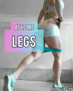 YOUR LEGS AT HOME! At home Leg Mini-Band workout for women! Tone your legs, quads, hamstrings and glute workout!At home Leg Mini-Band workout for women! Tone your legs, quads, hamstrings and glute workout! Butt Workout, Gym Workouts, At Home Workouts, At Home Hamstring Workout, Band Workouts, Home Workout Videos, Workout Diet, Dumbbell Workout, Workout Exercises