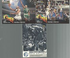 Basketball Trading Cards 1995 Players Club Collectors Choice Lot of 3 Upper Deck #doesnotapply