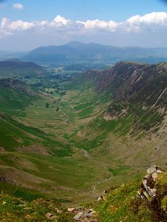 Newlands Beck from Dale Head, Newlands Valley, Cumbria, England