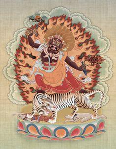 Dorje Drolod art by Christopher Banigan