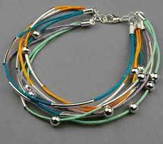 How to make a bracelet out of Cotton wax cord- cool bracelets for teenage guys �C Pandahall by wanting