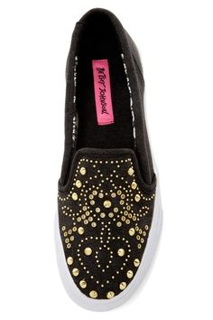 Betsey Johnson Aime Studded Shoe