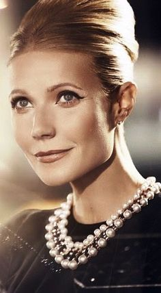 Gwyneth as Audrey Hepburn