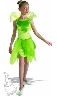 Disfraz Infantil de Campanilla. Un clásico entre los disfraces de la película de de Peter Pan.