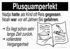 German Grammar - Plusguamperfekt   L E A R N G E R M A N