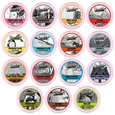Brooklyn Beans Assorted Variety Pack Single-Cup coffee for Keurig K-Cup Brewers…