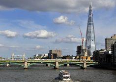 Hoogste gebouw Europa geopend in Londen