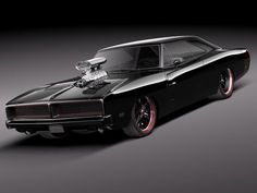 1969 Dodge Charger.