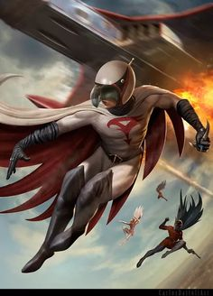 Want to discover art related to gatchaman? Check out inspiring examples of gatchaman artwork on DeviantArt, and get inspired by our community of talented artists. Classic Cartoons, Cool Cartoons, Comic Books Art, Comic Art, Manga Anime, Battle Of The Planets, Mundo Comic, Saturday Morning Cartoons, Fan Art