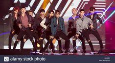 EXO, Oct 8, 2016 : South Korean boy band EXO performs at MBC