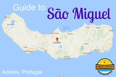 A guide to São Miguel, the largest island in the Azores. Getting there, what to do, and where to eat on one of the most beautiful islands of Portugal. Portugal Vacation, Portugal Travel, Portugal Trip, Azores Portugal, Terceira Azores, Transatlantic Cruise, Spain Tourism, Ponta Delgada, Cap Vert