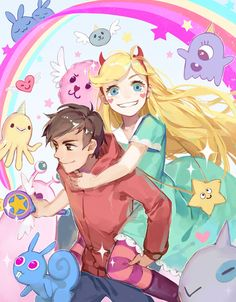 Star vs the forces of this title is hella fucking long,  just star and marco doing 'friend ' cute things
