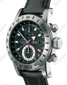 Glycine | Airman 9 Chronograph | Steel | Watch database watchtime.com   $3,595