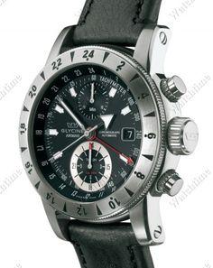 Glycine | Airman 9 Chronograph | Steel | Watch database watchtime.com   $3,595